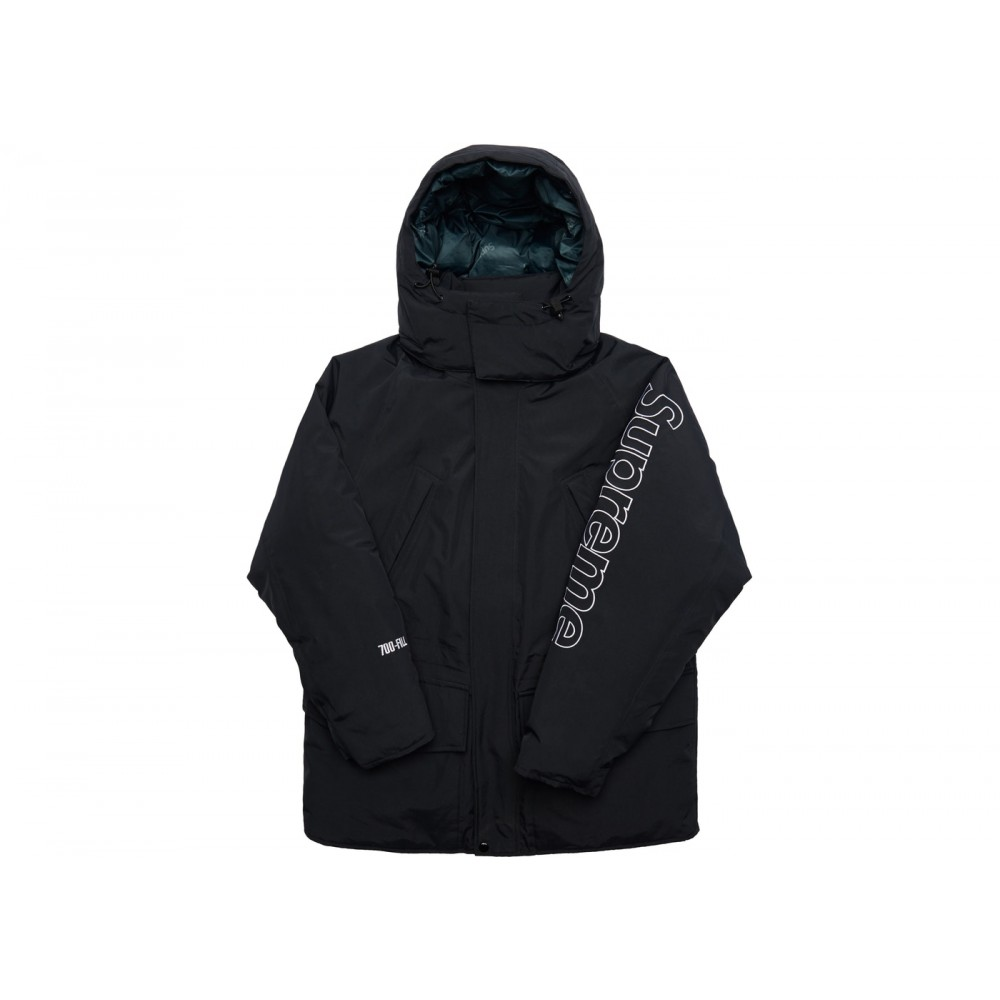 FW18 Supreme 700-Fill Down Taped Seam Parka Black