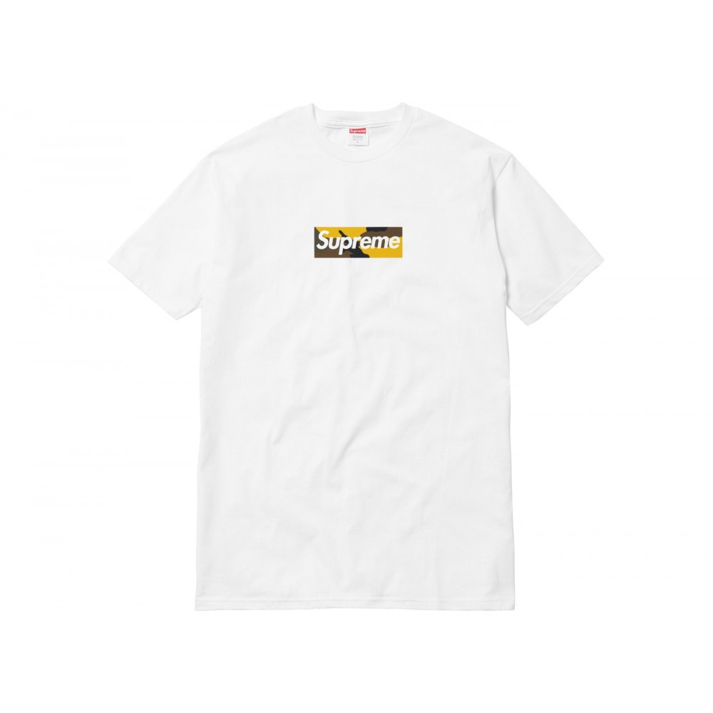 FW18 Supreme Brooklyn Box Logo Tee White