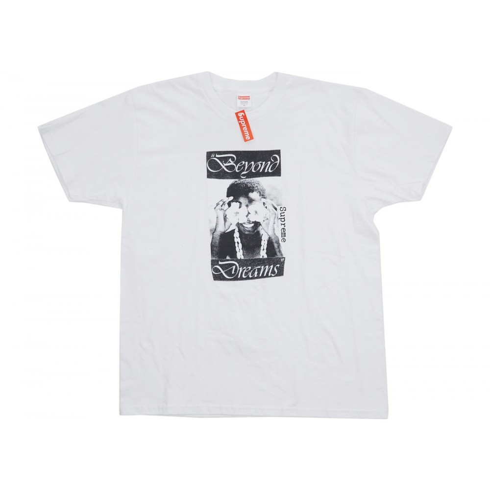 FW18 Supreme Beyond Dreams Tee White