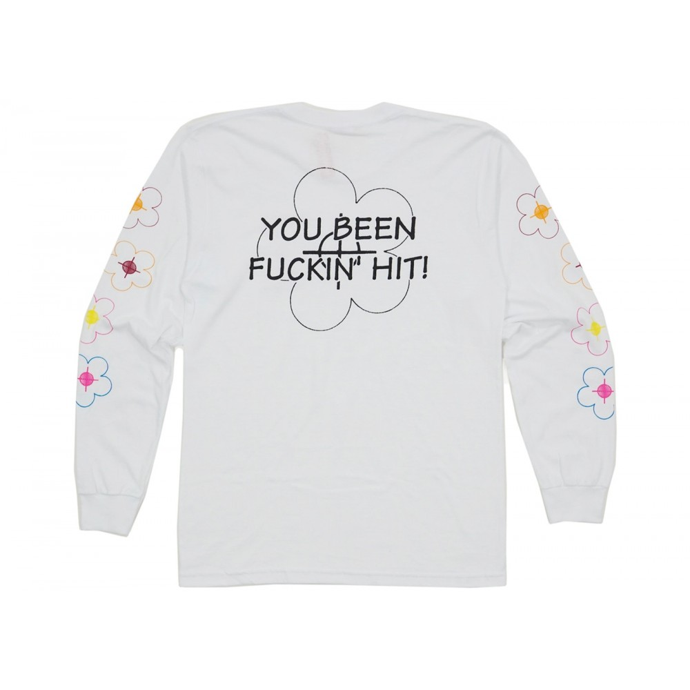 FW18 Supreme Been Hit LS Tee White