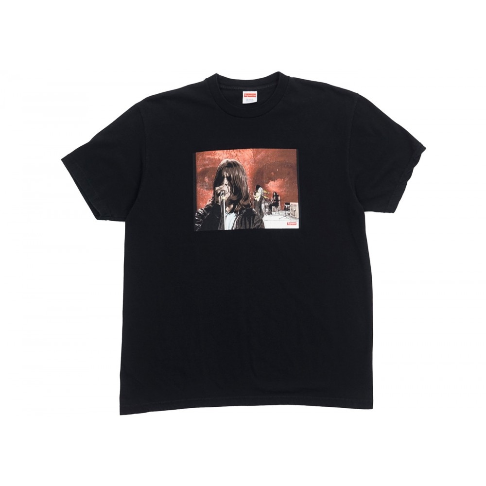 FW18 Supreme Black Sabbath Paranoid Tee Black