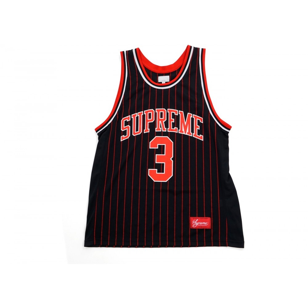 FW18 Supreme Crossover Basketball Top Black