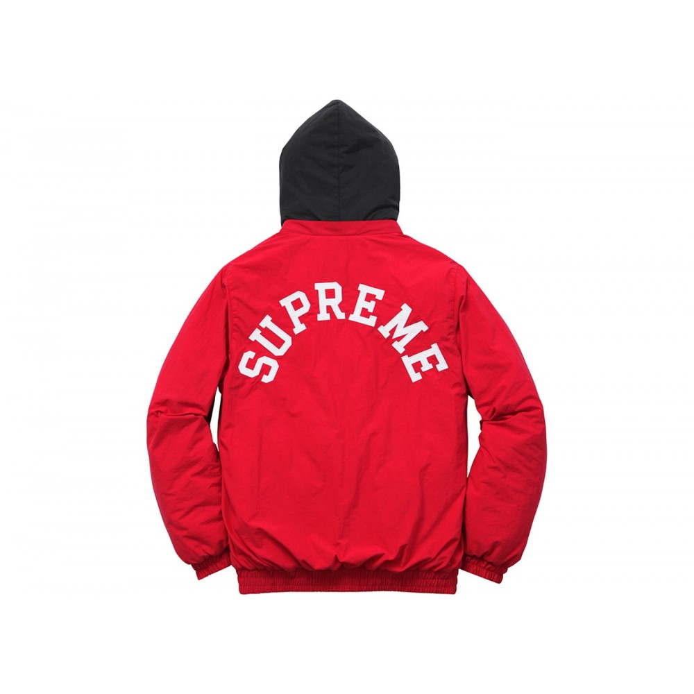 FW18 Supreme Champion Puffy Jacket Red