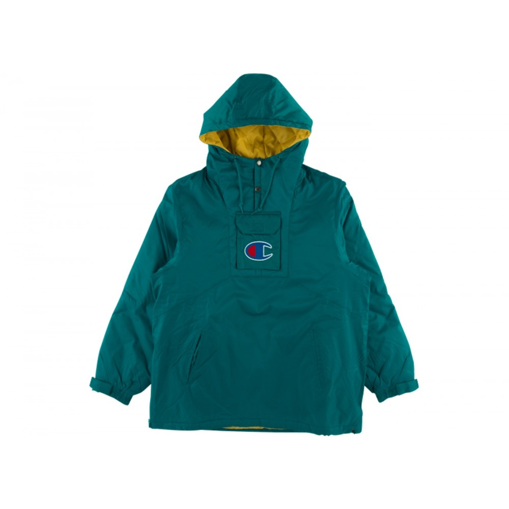 FW18 Supreme Champion Pullover Parka Teal