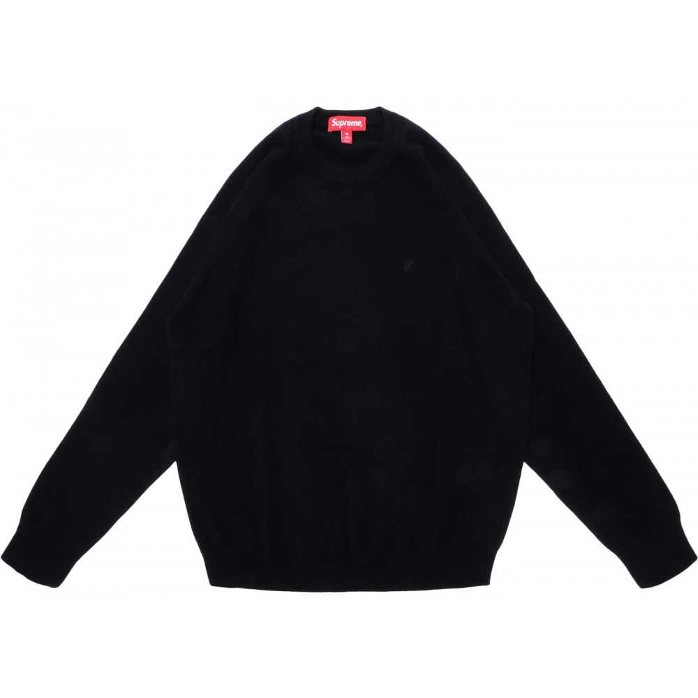 FW18 Supreme Cashmere Sweater Sweater Black
