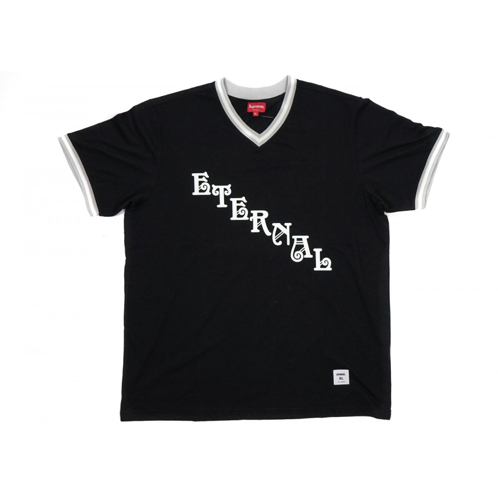 FW18 Supreme Eternal Practice Jersey Black