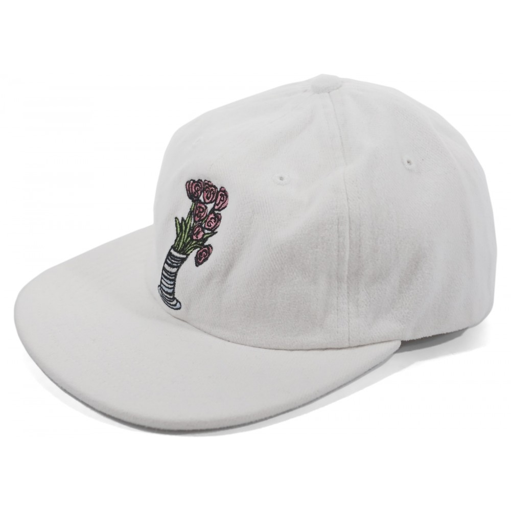 FW18 Supreme Flowers 6-Panel White