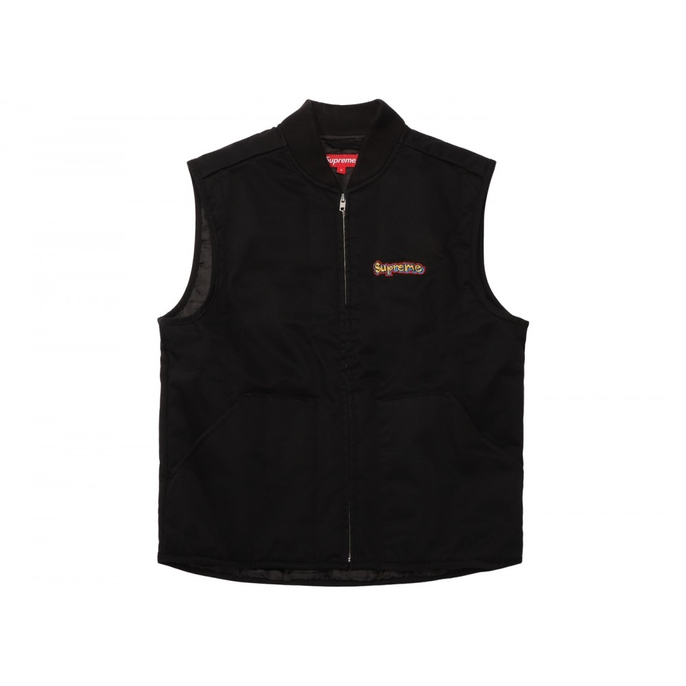 FW18 Supreme Gonz Shop Vest Black