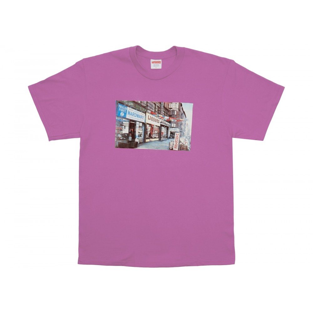 FW18 Supreme Hardware Tee Light Purple