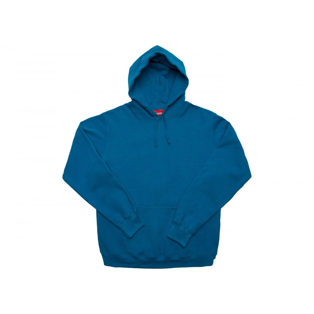 FW18 Supreme Illegal Business Hooded Sweatshirt Dark Aqua