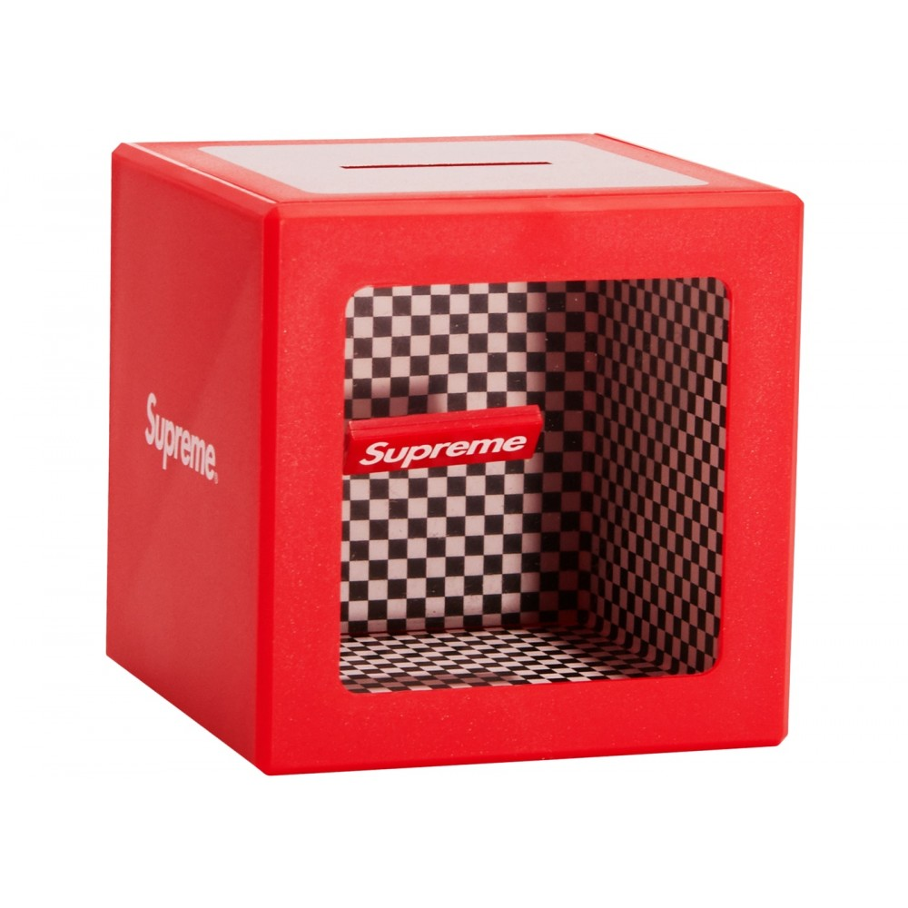 FW18 Supreme Illusion Coin Bank Red