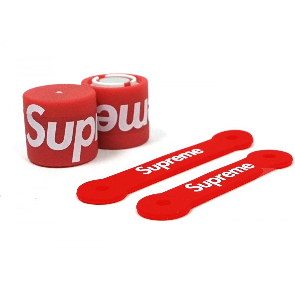 FW18 Supreme Lucetta Magnetic Bike Lights Red
