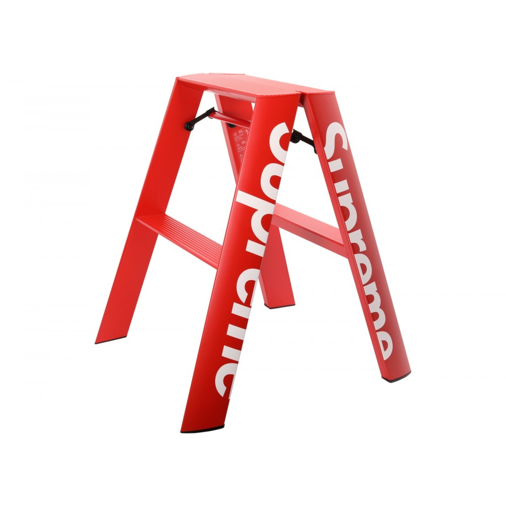 FW18 Supreme Lucano Step Ladder Red