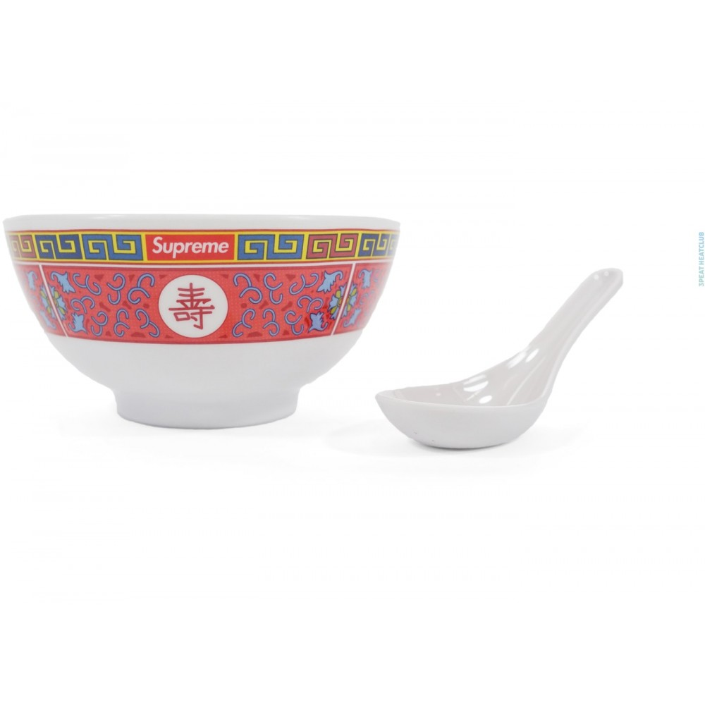 FW18 Supreme Longevity Soup Set (Bowl and Spoon) White