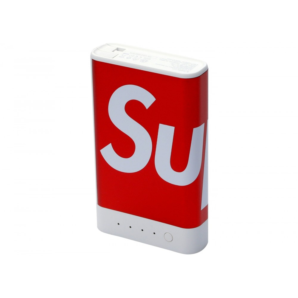 FW18 Supreme mophie encore plus 10k Charger Red