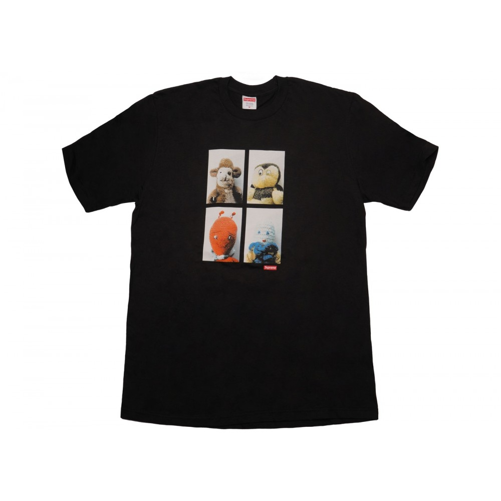 FW18 Supreme Mike Kelley AhhYouth! Tee Black