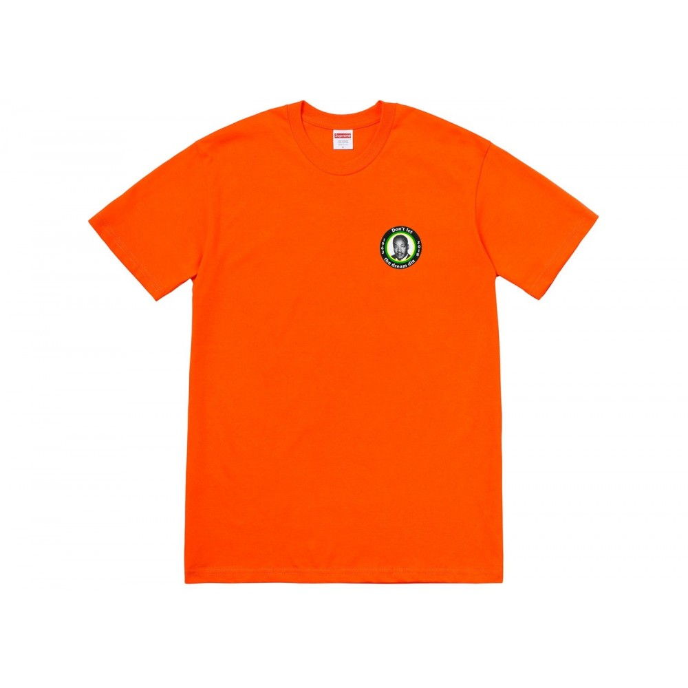 FW18 Supreme MLK Dream Tee Orange