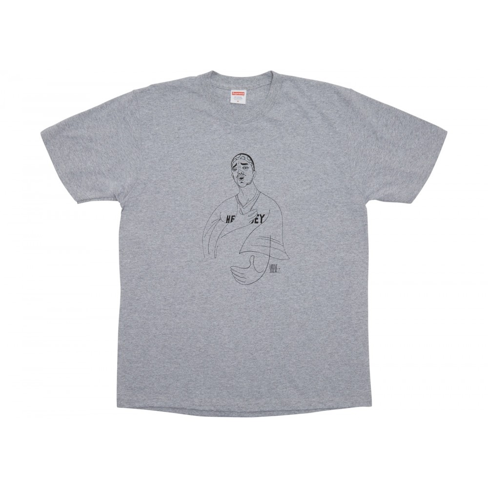 FW18 Supreme Prodigy Tee Heather Grey