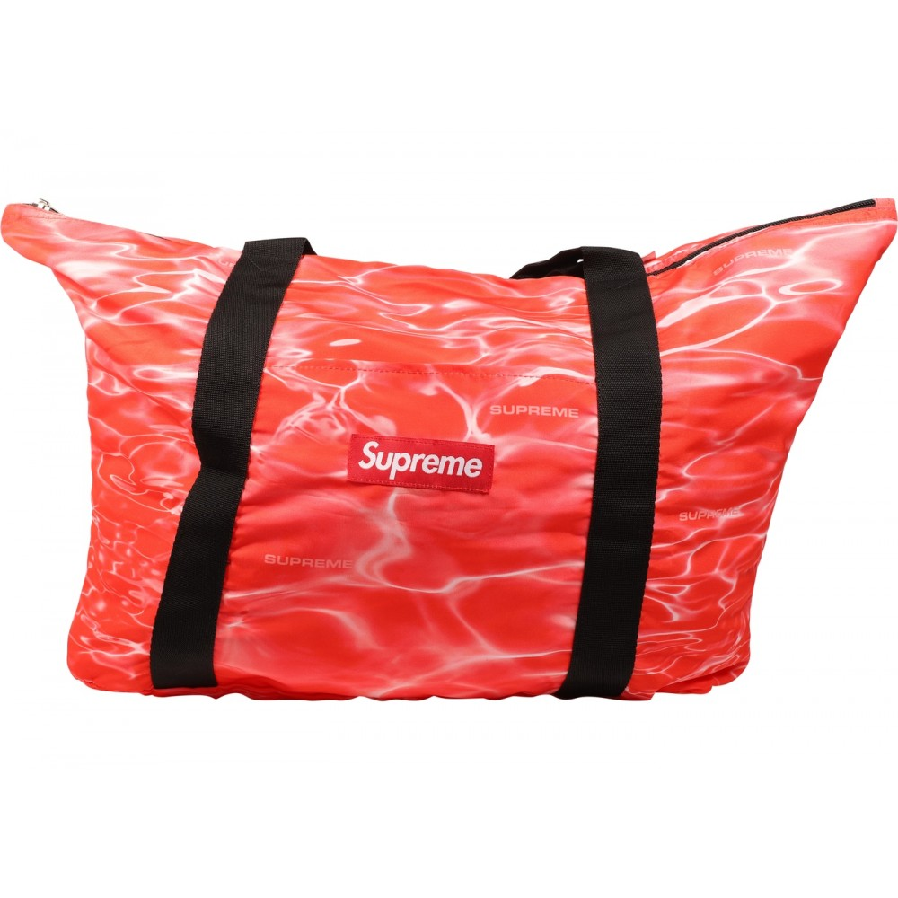 FW18 Supreme Ripple Packable Tote Red