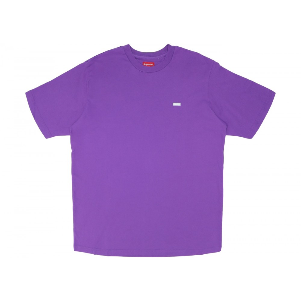 FW18 Supreme Reflective Small Box Tee Violet