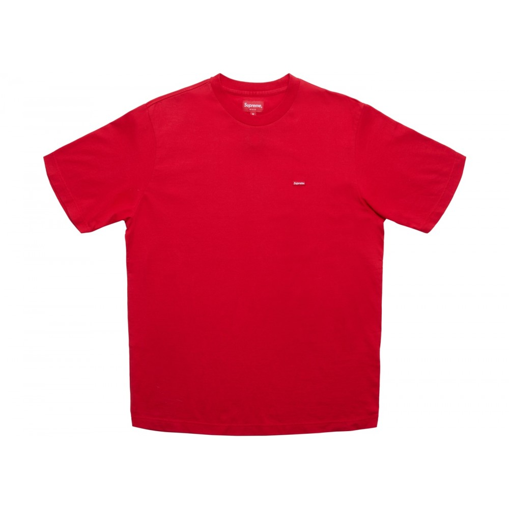 FW18 Supreme Small Box Tee (SS18) Red