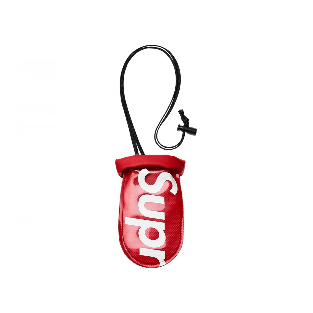 FW18 Supreme SealLine See Pouch Small Red