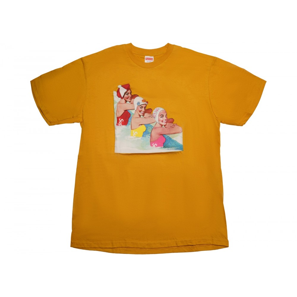 FW18 Supreme Swimmers Tee Mustard