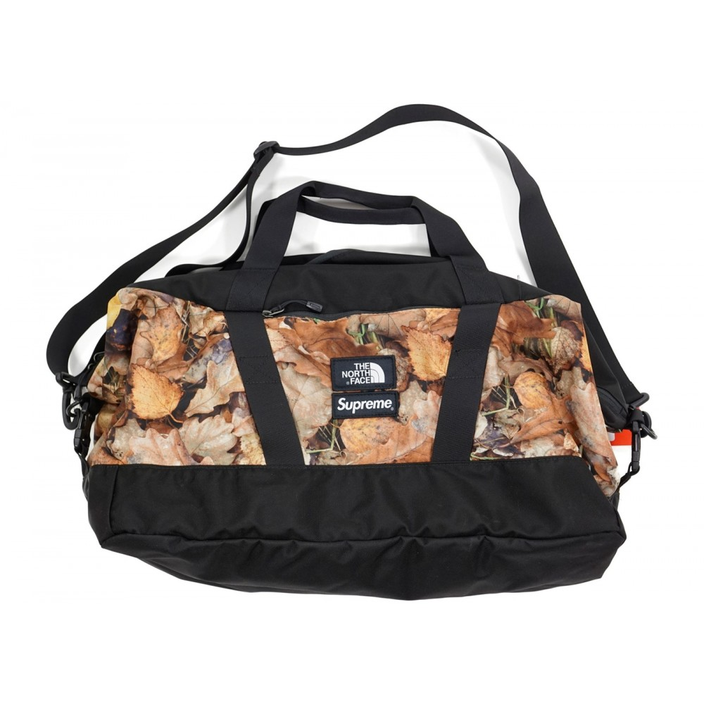 FW18 Supreme The North Face Apex Duffle Bag Leaves