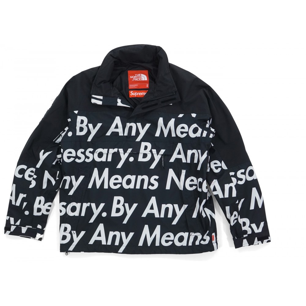 FW18 Supreme The North Face By Any Means Mountain Jacket Black