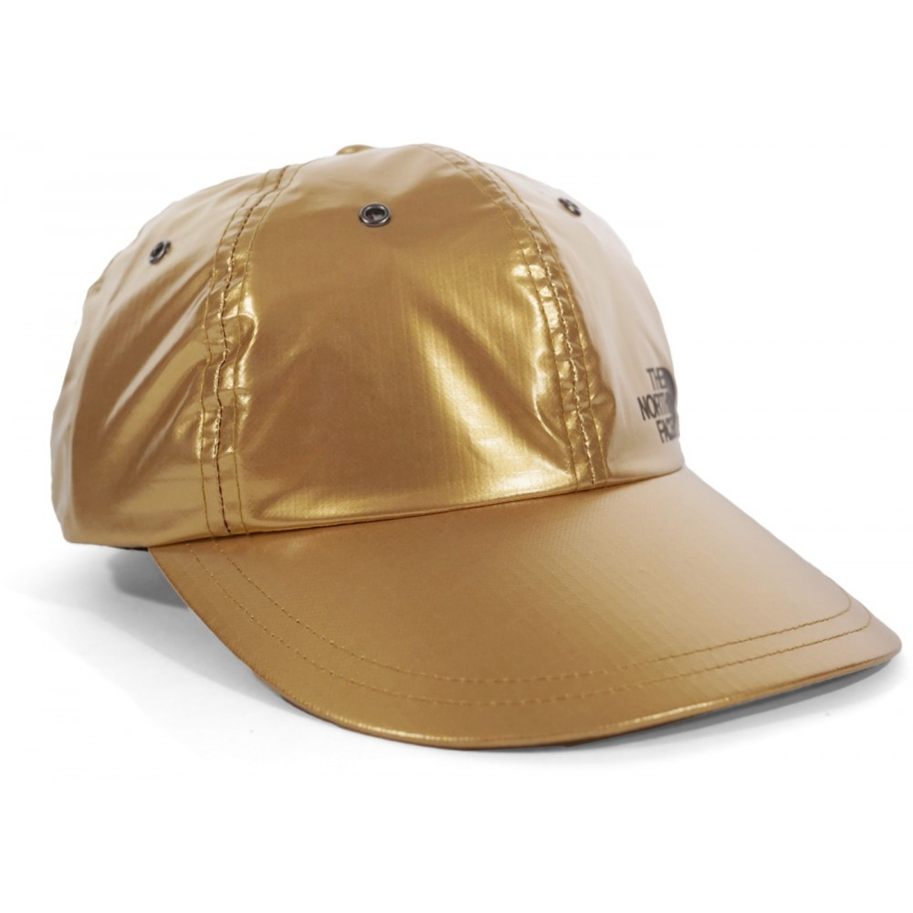 FW18 Supreme The North Face Metallic 6-Panel Gold