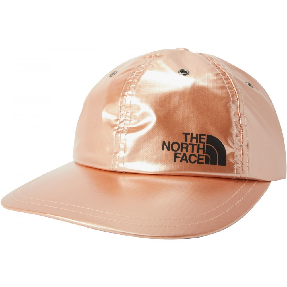 FW18 Supreme The North Face Metallic 6-Panel Rose Gold