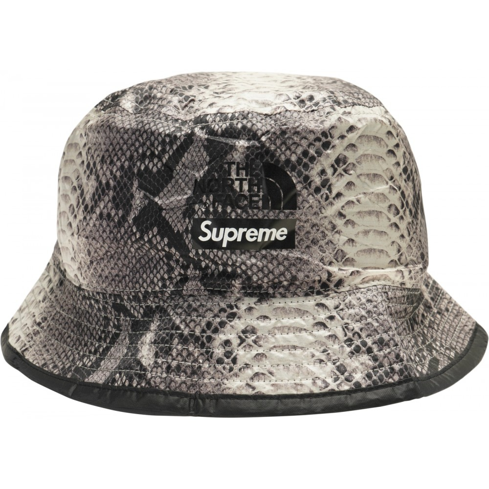 FW18 Supreme The North Face Snakeskin Packable Reversible Crusher Black