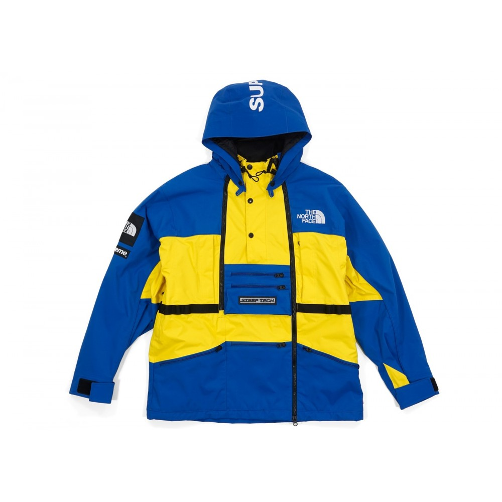FW18 Supreme The North Face Steep Tech Hooded Jacket Royal