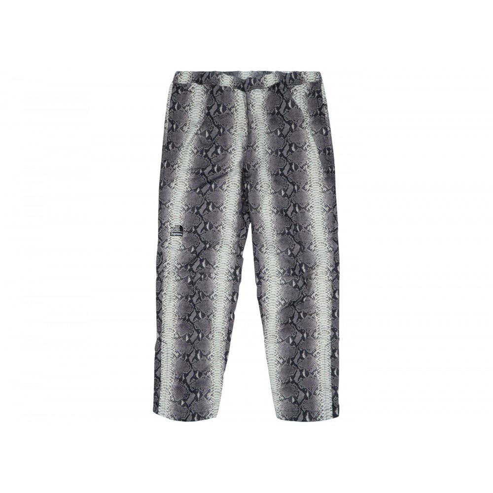 FW18 Supreme The North Face Snakeskin Taped Seam Pant Black