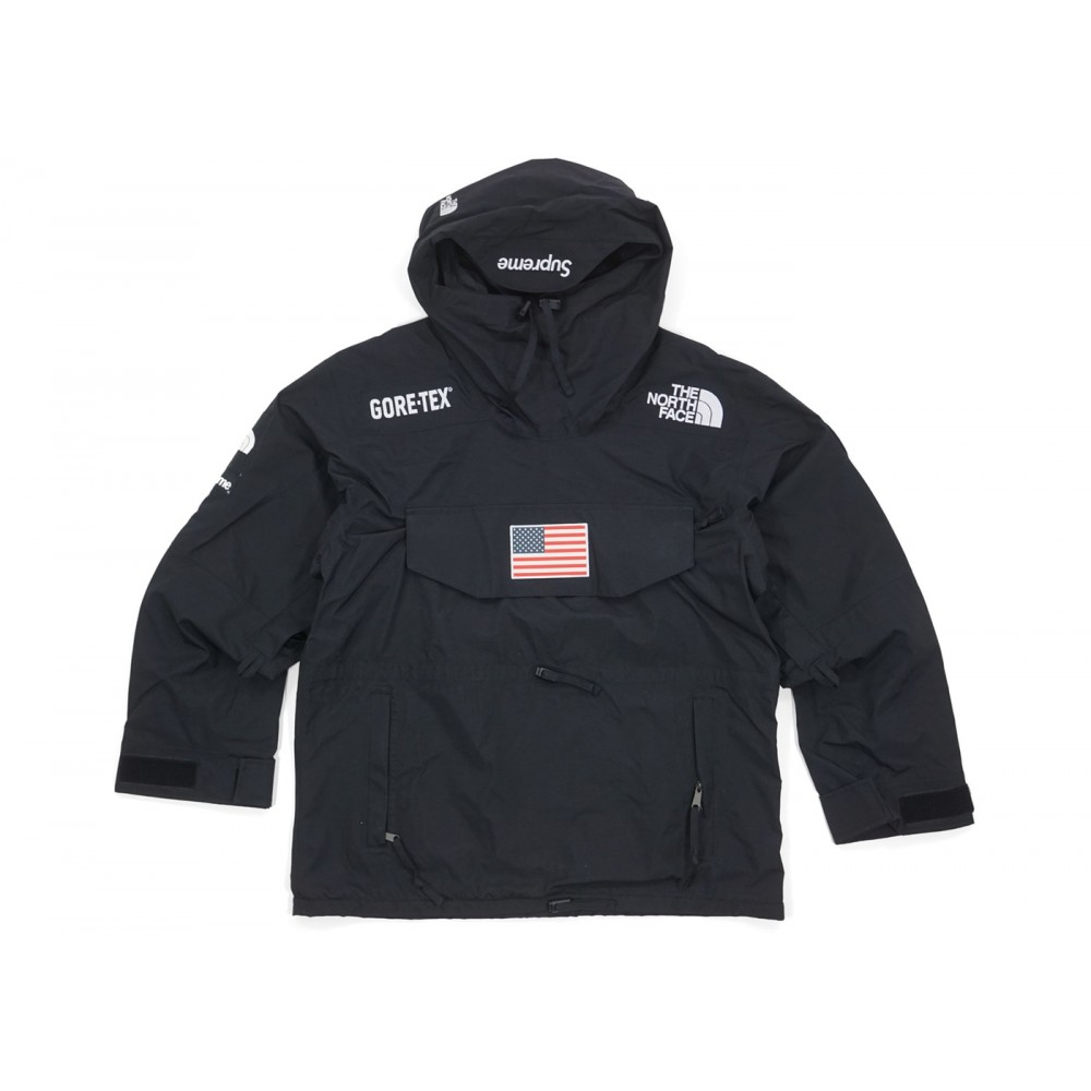 FW18 Supreme The North Face Trans Antarctica Expedition Pullover Jacket Black