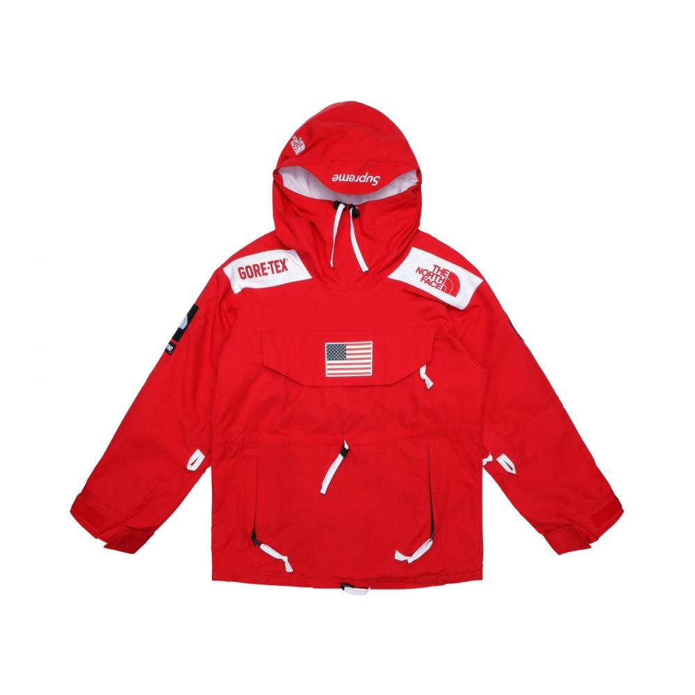 FW18 Supreme The North Face Trans Antarctica Expedition Pullover Jacket Red