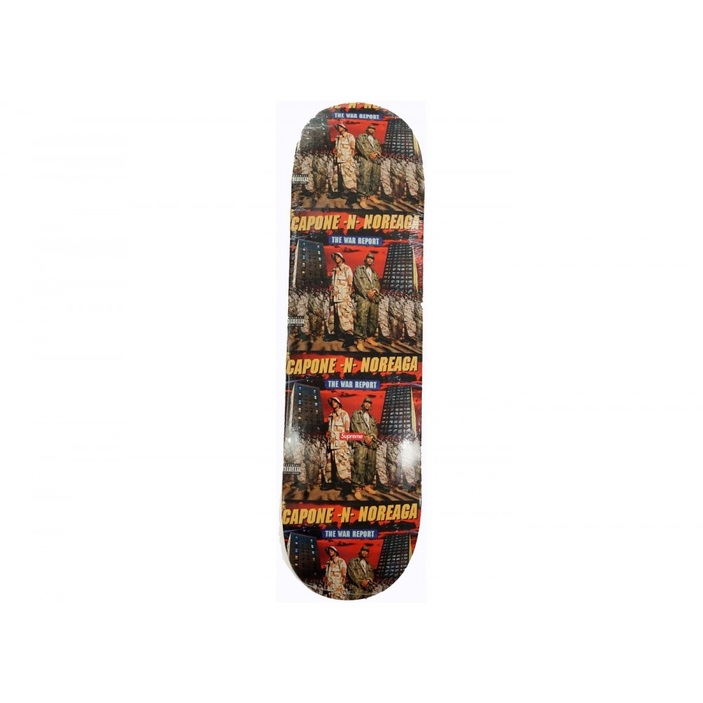 FW18 Supreme The War Report Skateboard Deck Multi