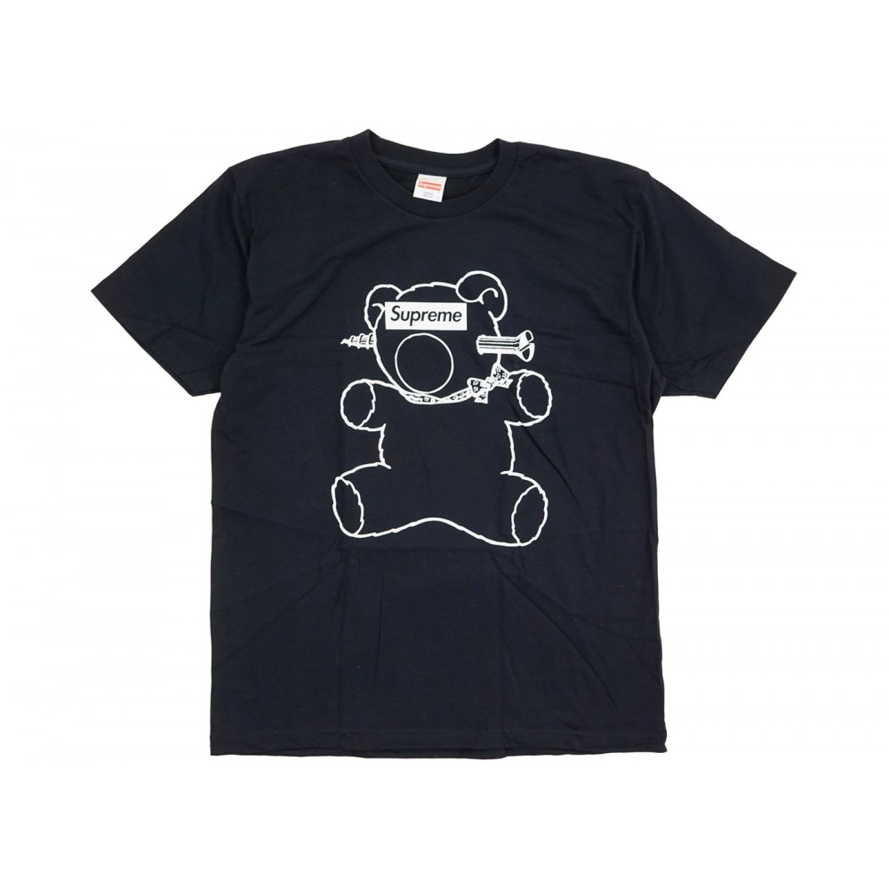 FW18 Supreme Undercover Bear Tee Black