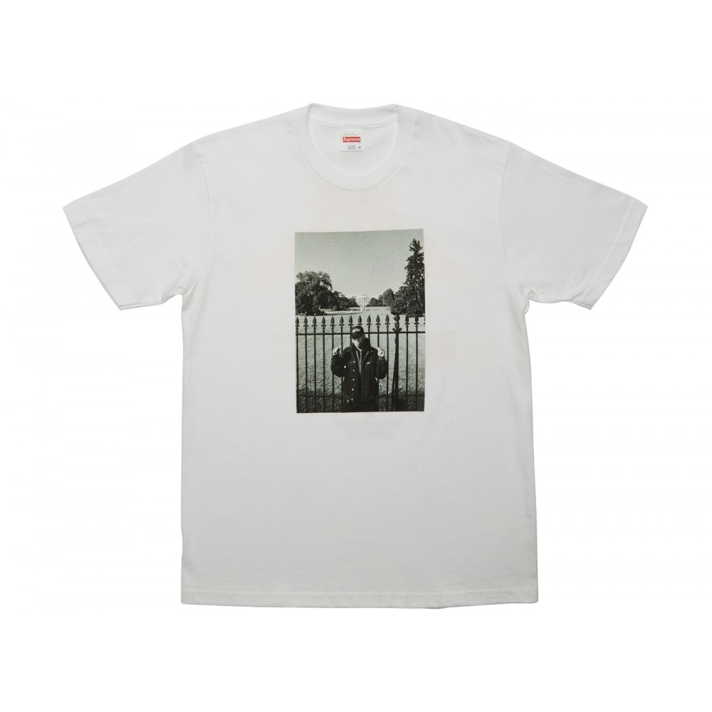 FW18 Supreme UNDERCOVER/Public Enemy White House Tee White