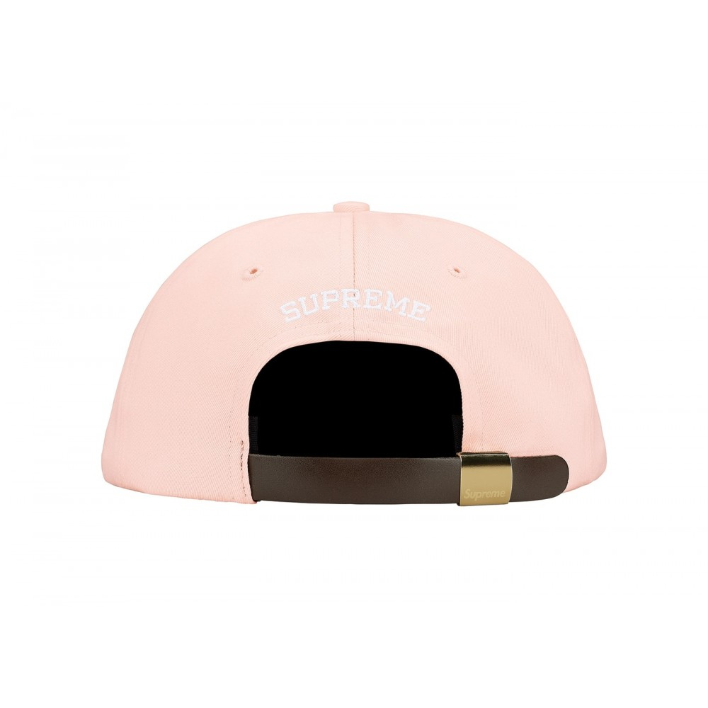 FW18 Supreme Visor Label 6-Panel Light Peach