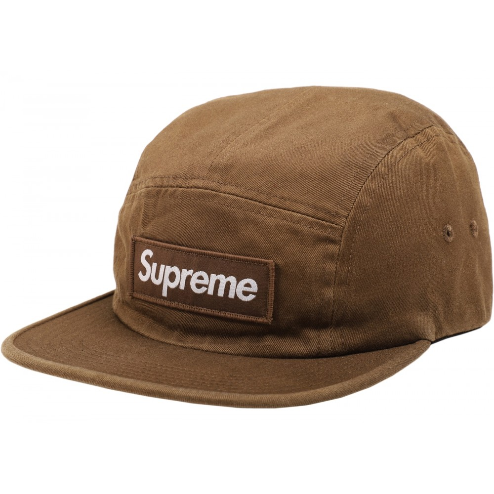 971d85d9 FW18 Supreme Washed Chino Twill Camp Cap (FW18) Moss