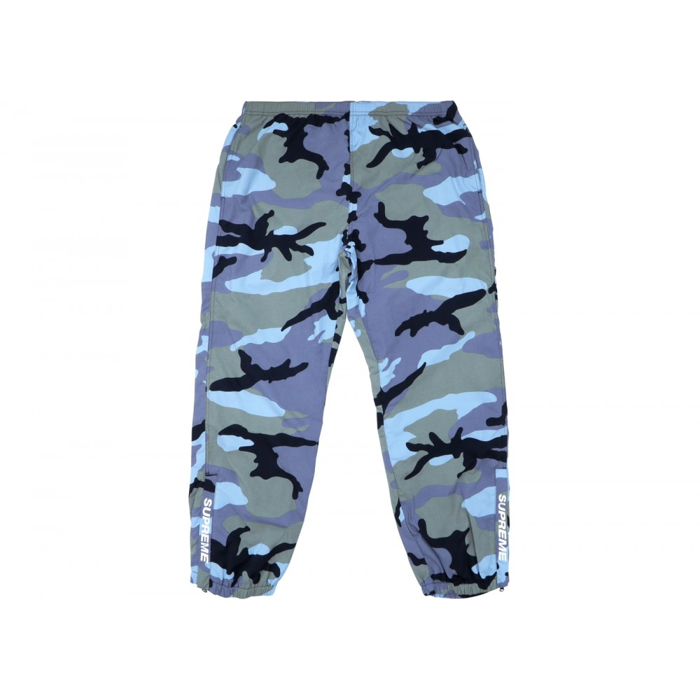 FW18 Supreme Warm Up Pant (SS18) Blue Camo