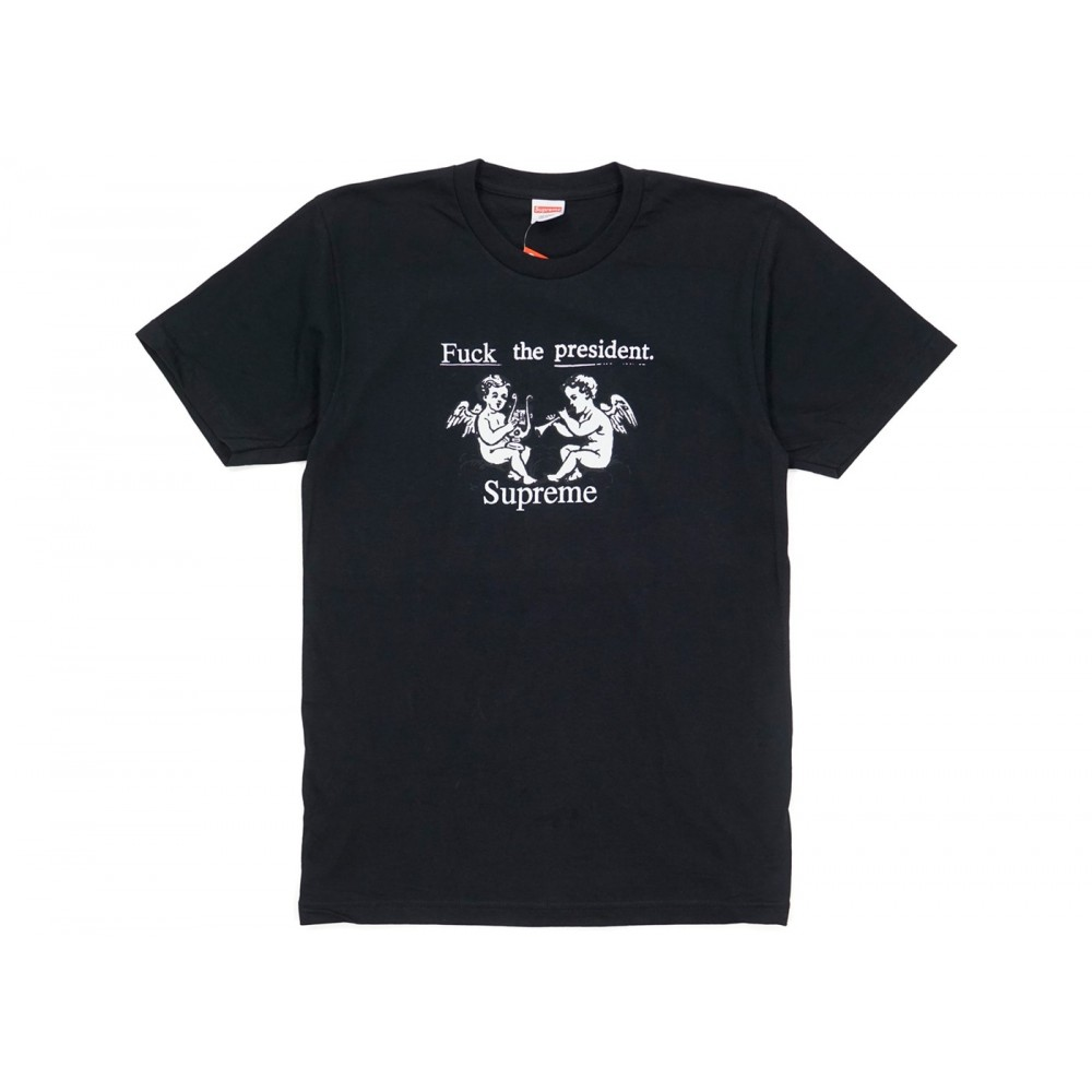 FW18 Supreme Ftp Tee Black