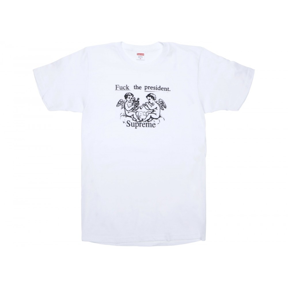 FW18 Supreme Ftp Tee White