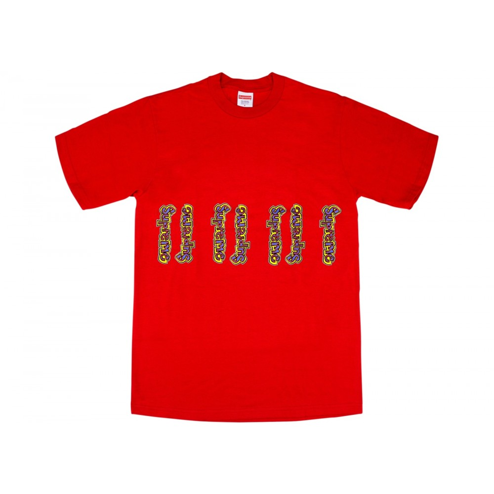 FW18 Supreme Gonz Logo Tee Red