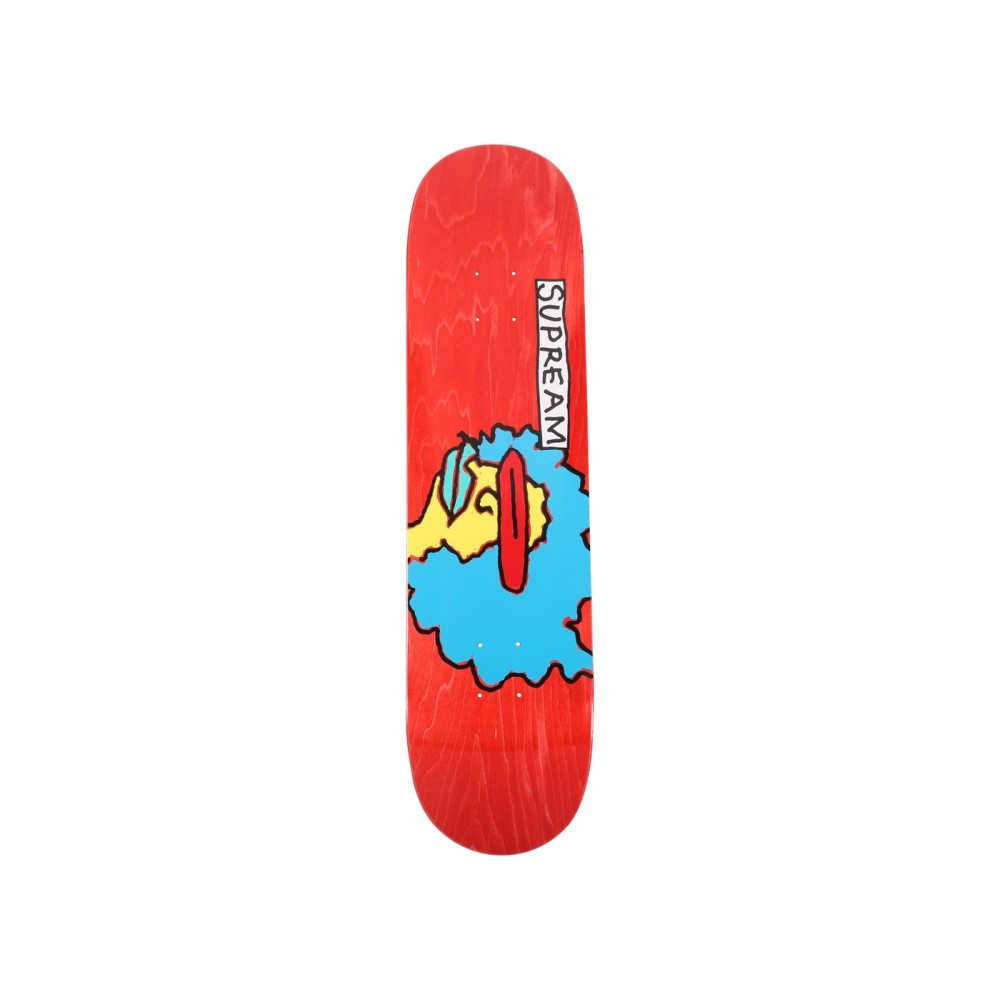 FW18 Supreme Gonz Ramm Skateboard Deck Red