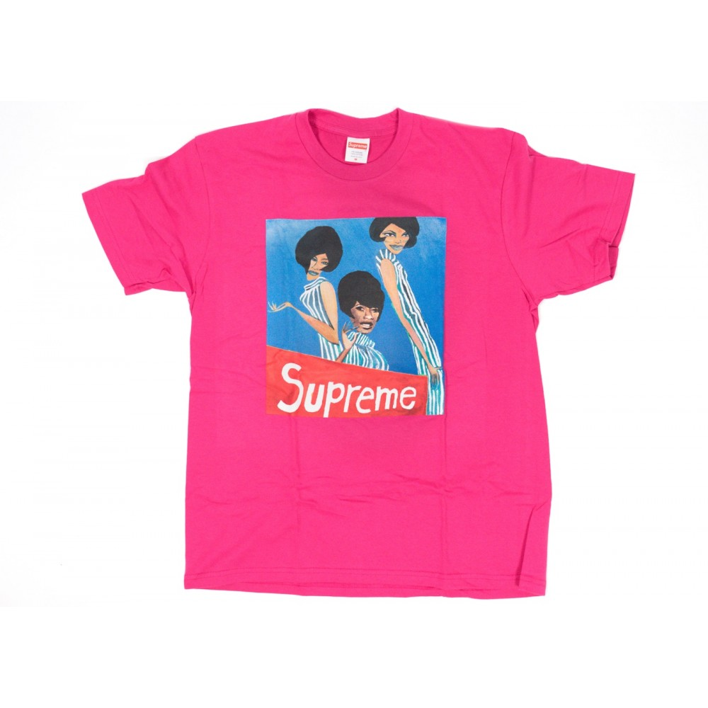 FW18 Supreme Group Tee Dark Pink