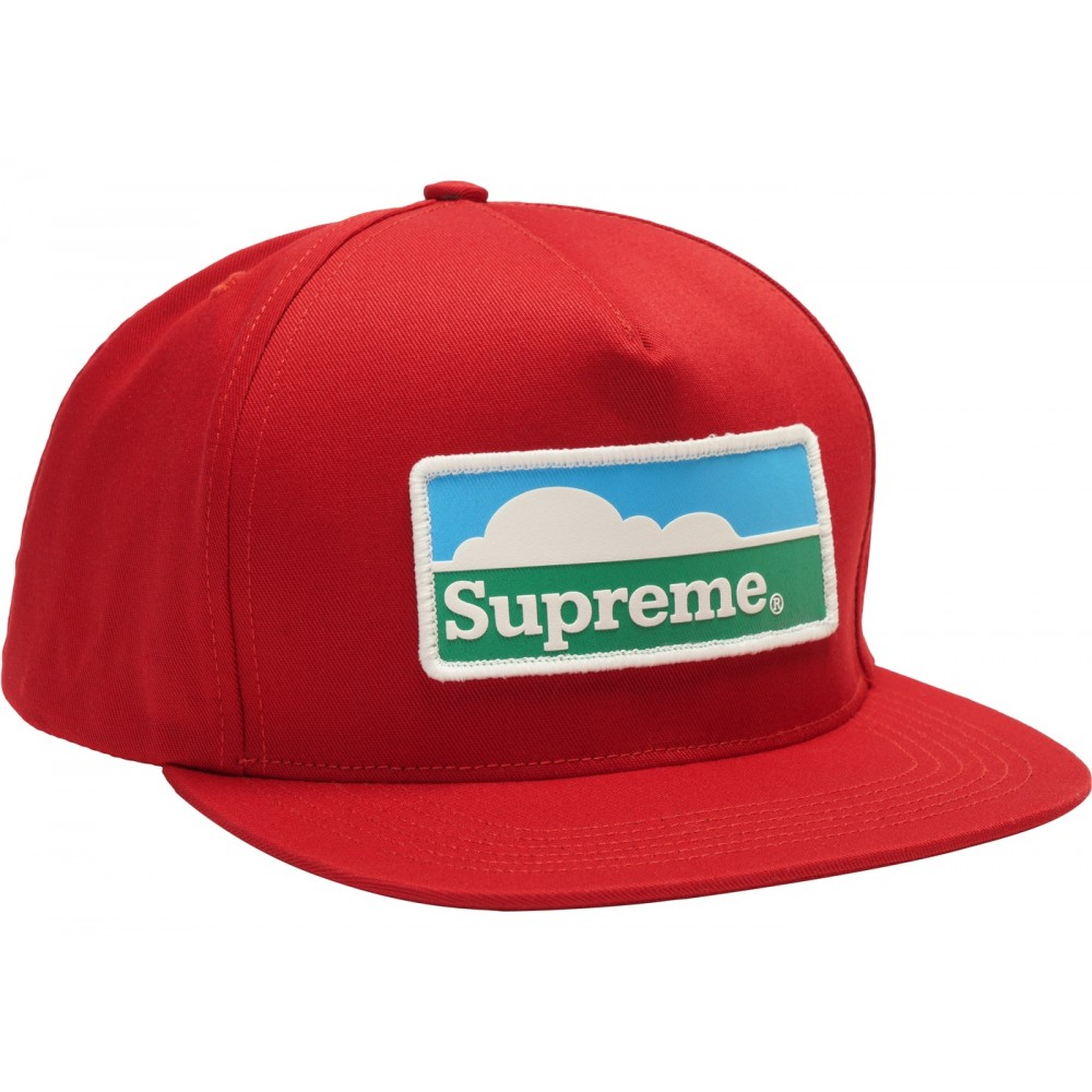 3a3088ae FW18 Supreme Horizon 5-Panel Red