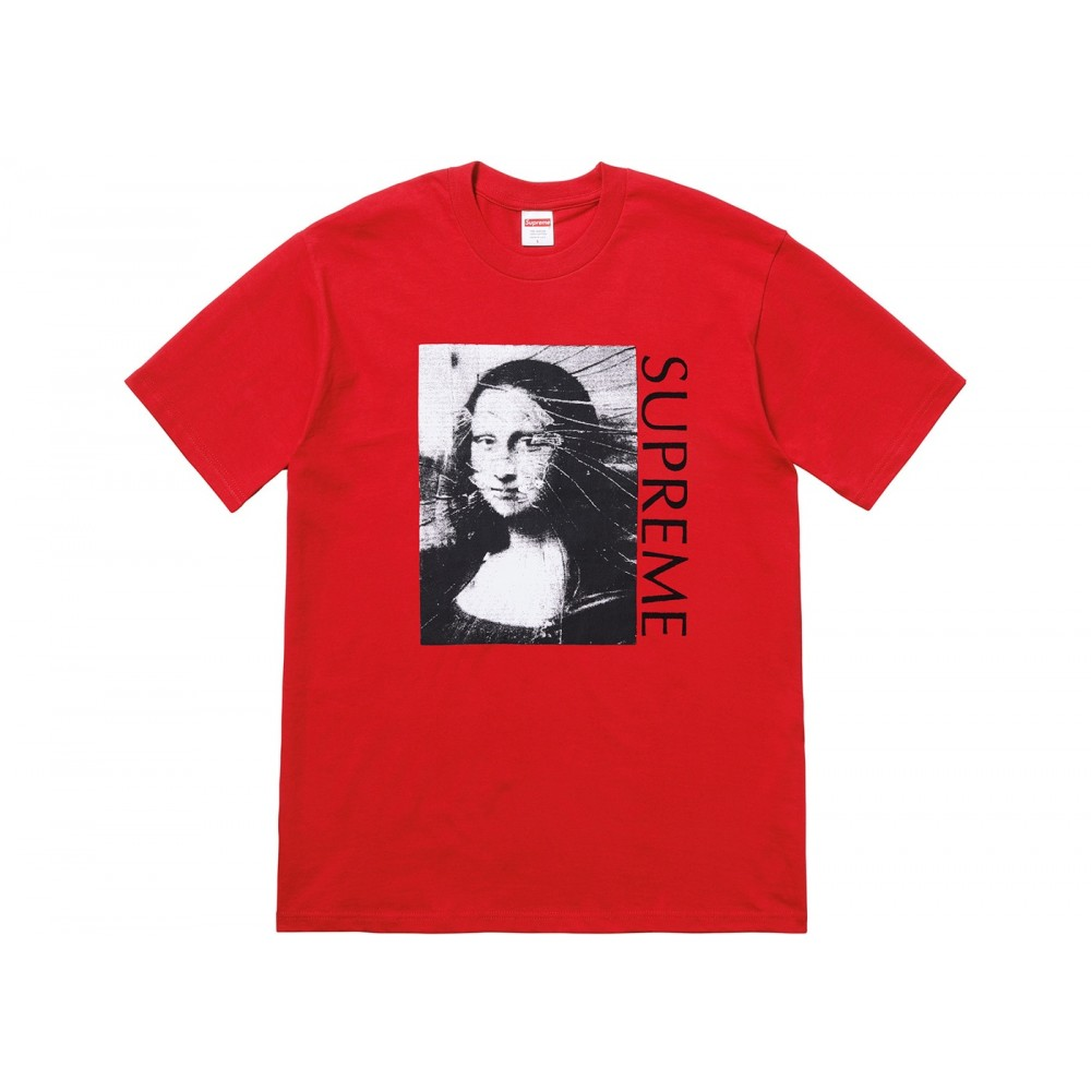 FW18 Supreme Mona Lisa Tee Red