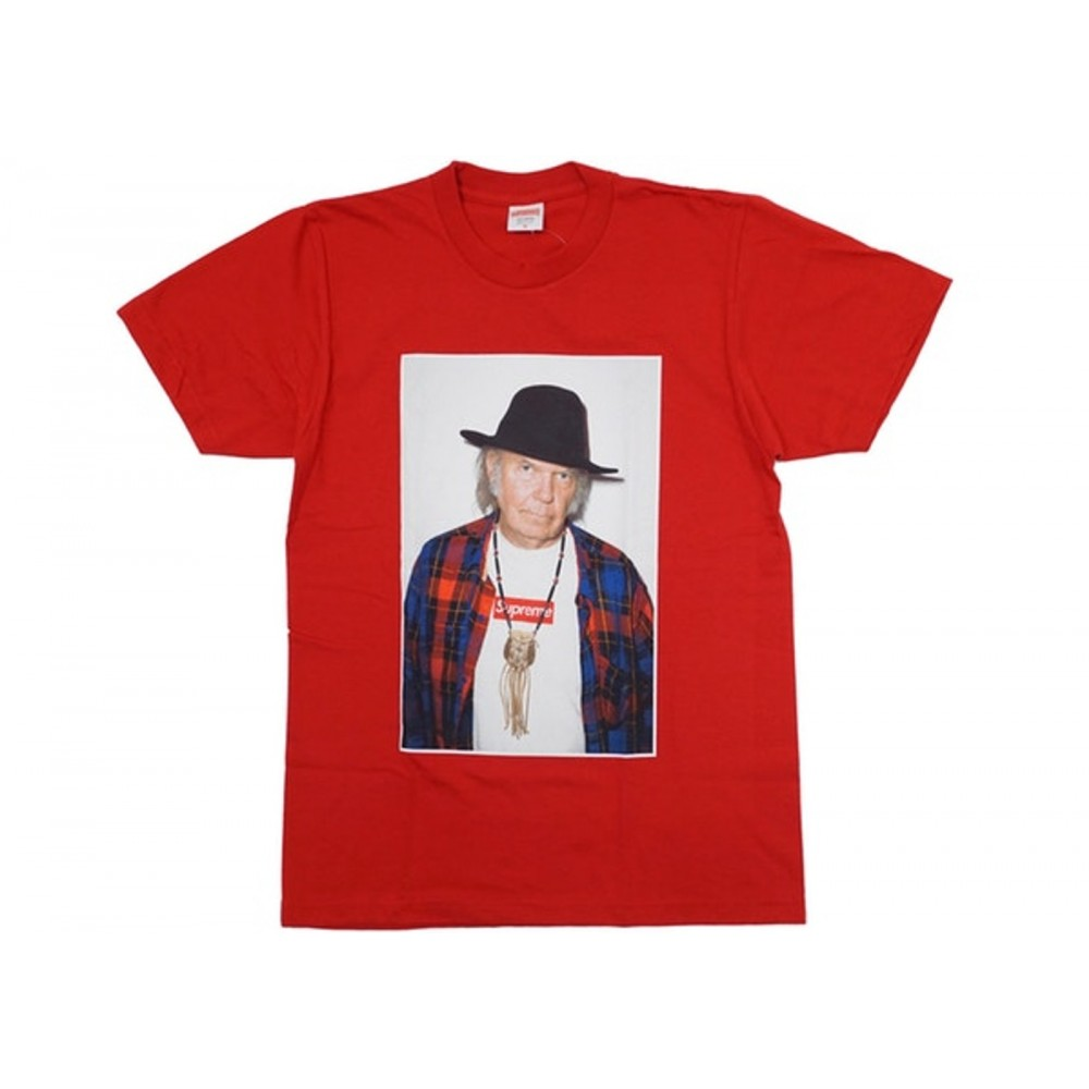 FW18 Supreme Neil Young Tee White